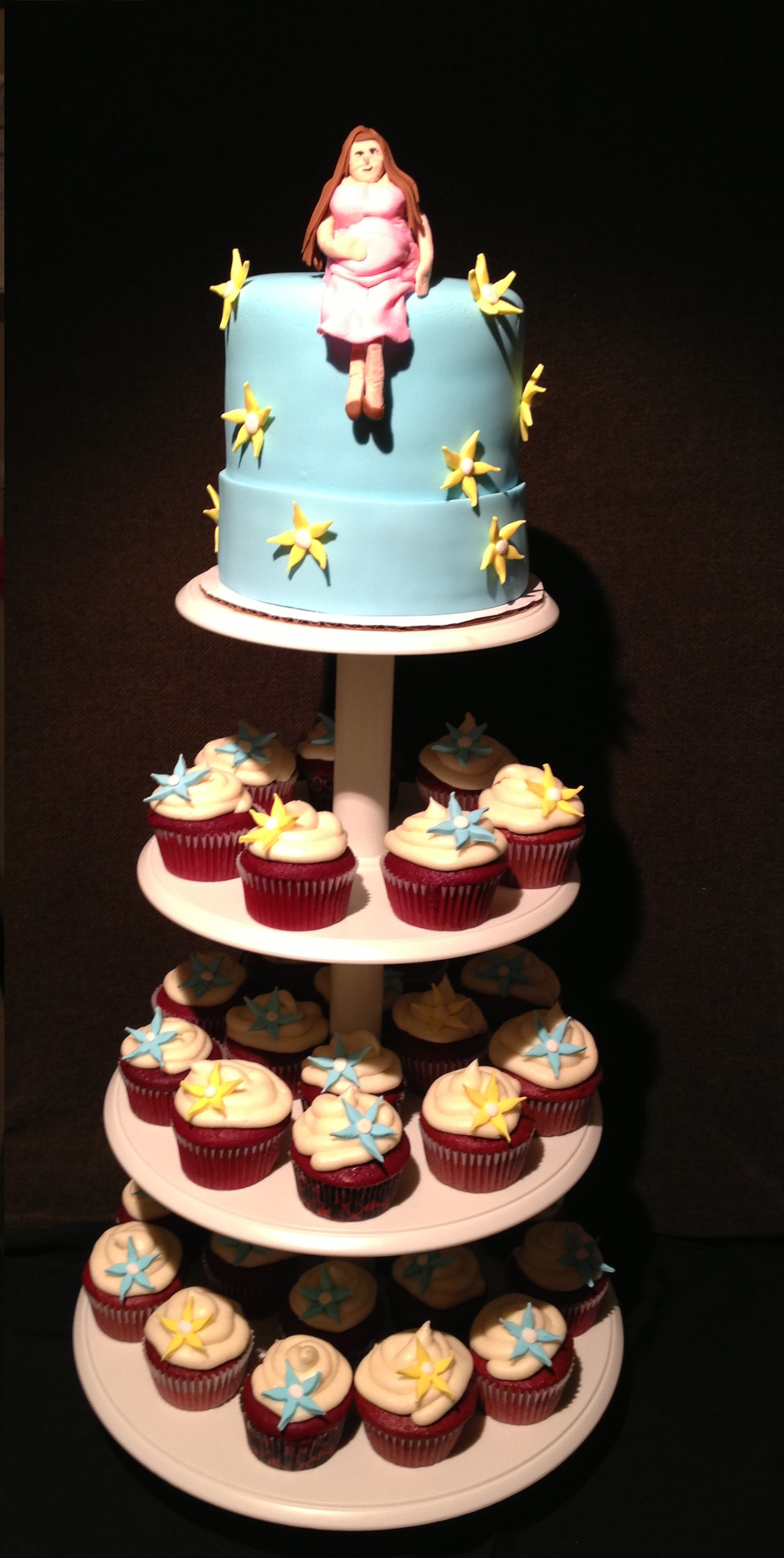Ideas For Baby Shower Cakes Or Cupcakes : CUPCAKE TOWER - For childrens