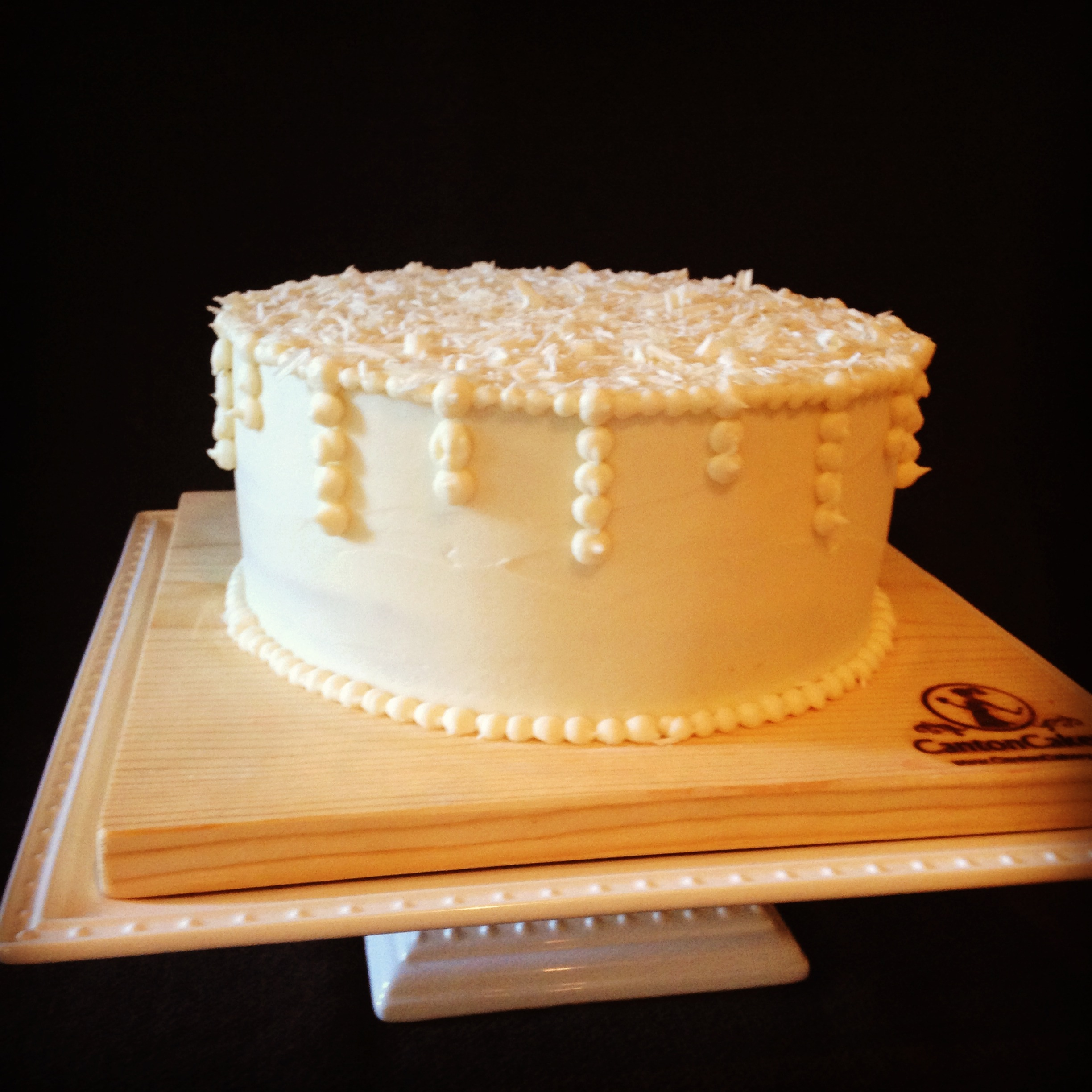 Cream Cheese Buttercream Frosting Wedding Cake